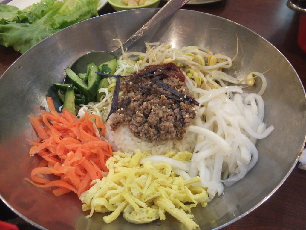 韓福香:韓国料理
