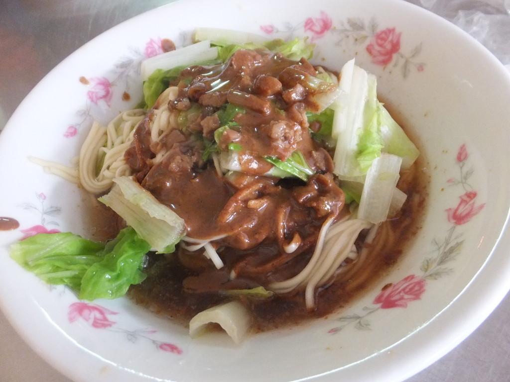 阿恵麺店の麻醤麺